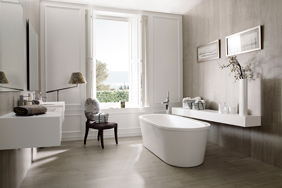 Expert Advice: Using Wood in a Bathroom